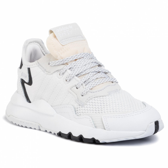 Topánky adidas - Nite Jogger C EE6476  Ftwht/Ftwht/Crywht