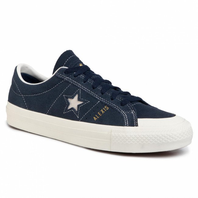 Tramky CONVERSE - Os Pro As Ox 167615C  Obsidian/Egret/Egret