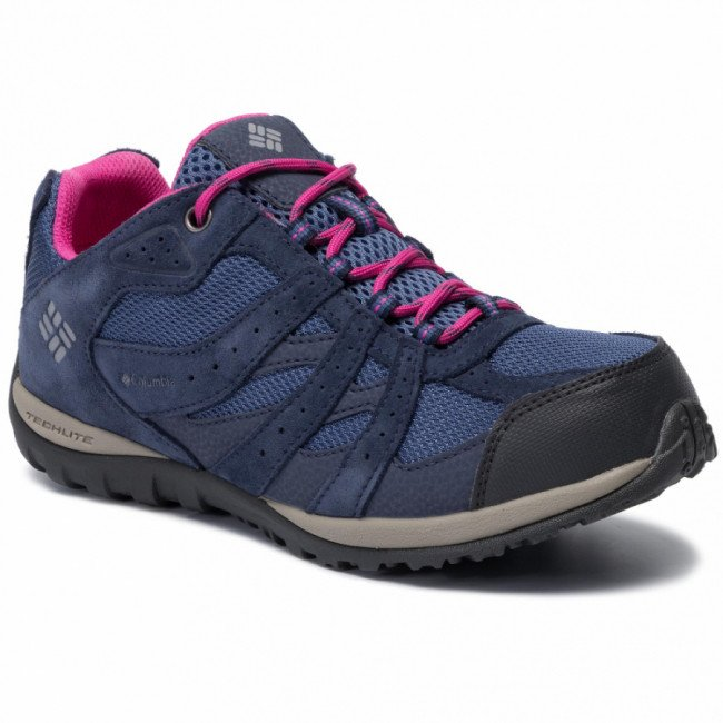 Trekingová obuv COLUMBIA - Youth Redmond Waterproof BY2857 Bluebell/Pink 508