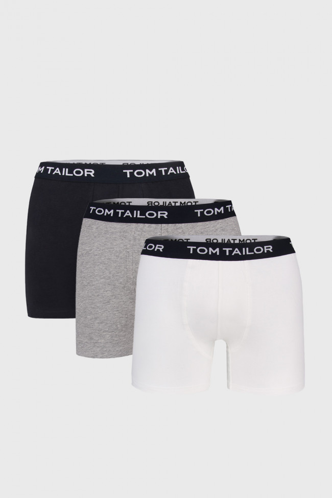 3 PACK dlhších boxeriek Tom Tailor