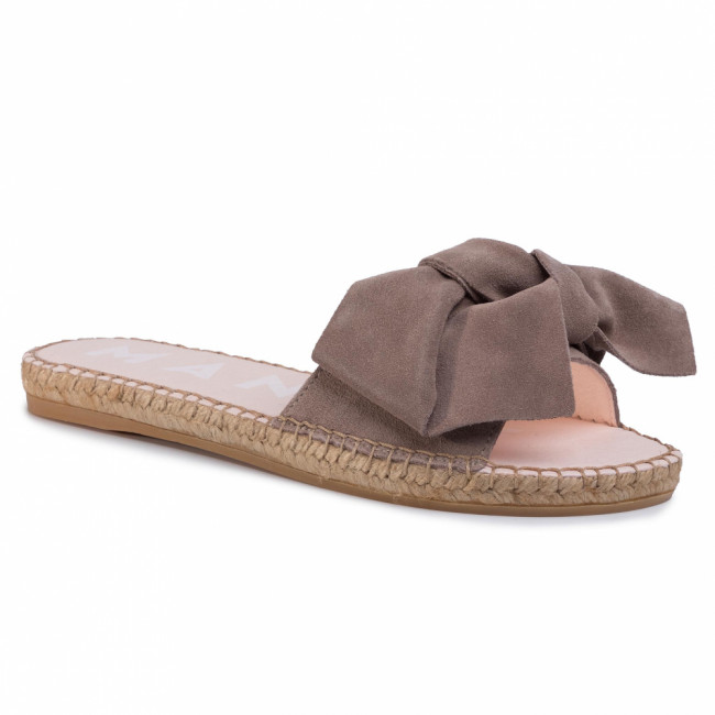 Espadrilky MANEBI - Sandals With Bow W 1.9 J0 Taupe