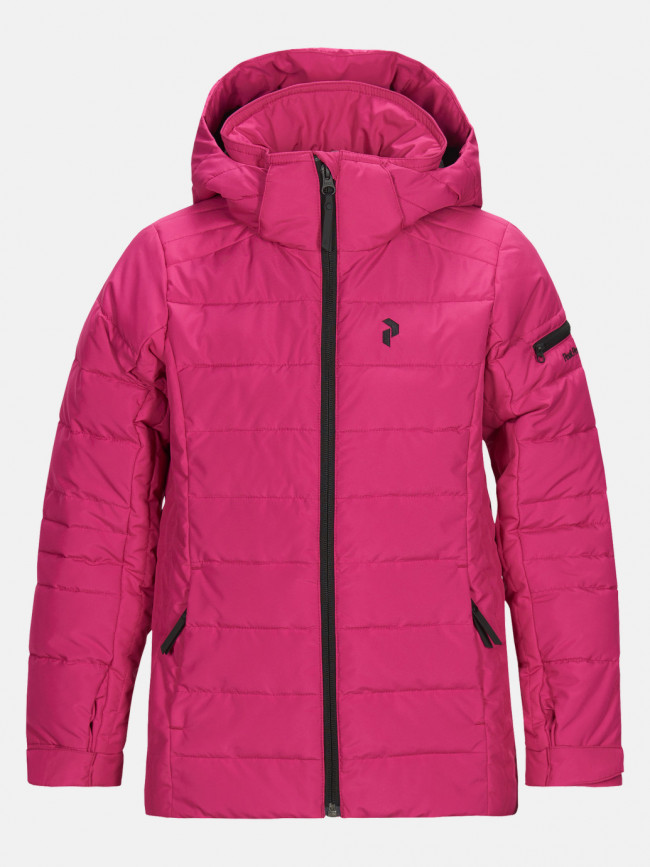 Bunda Peak Performance Jrblackbj Active Ski Jacket - Ružová