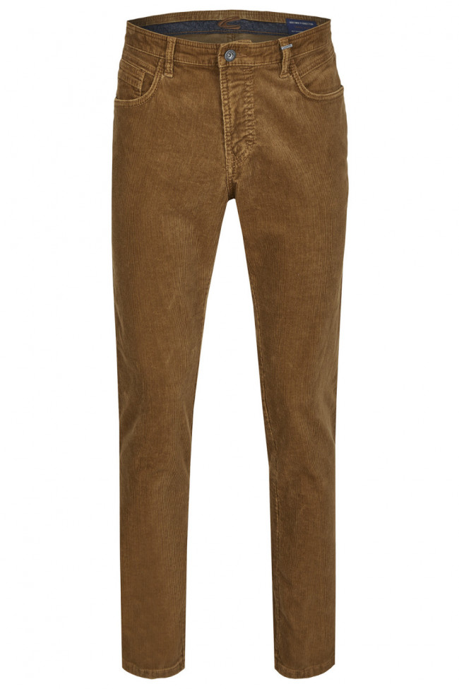 Džínsy Camel Active 5-Pocket Houston - Hnedá
