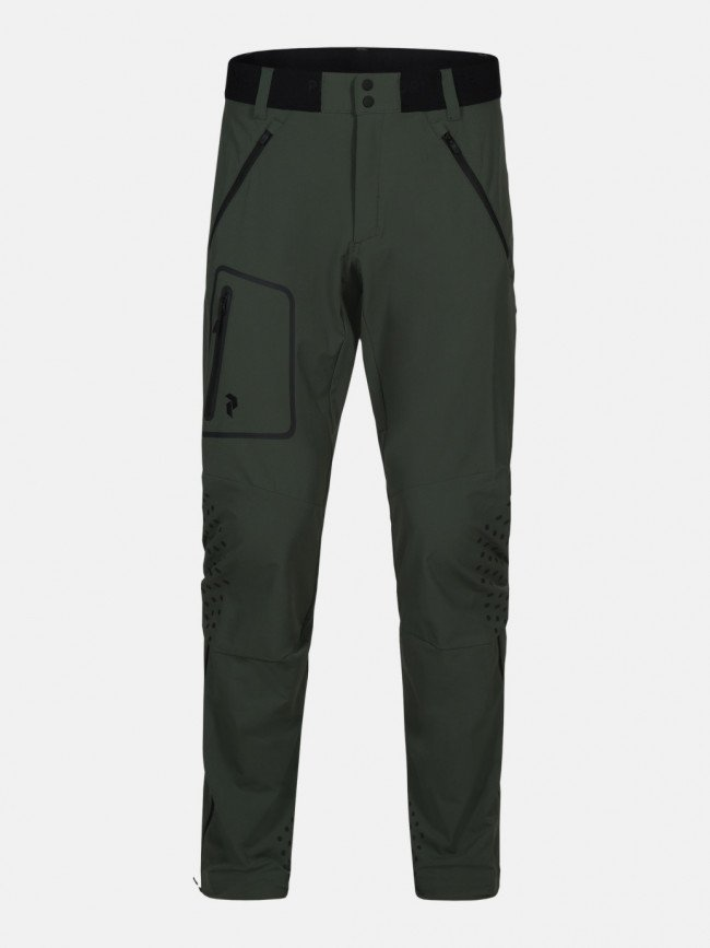 Nohavice Peak Performance M Light Soft Shell Pant - Zelená