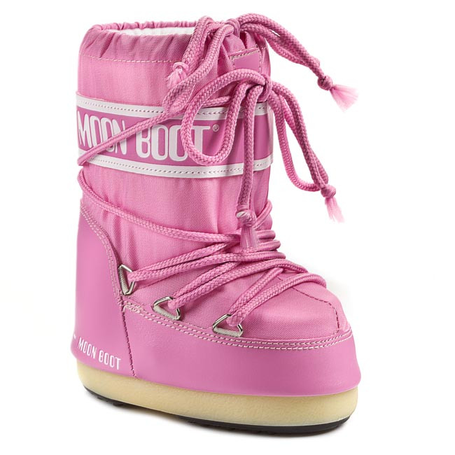 Snehule MOON BOOT - Nylon 14004400063/D Pink