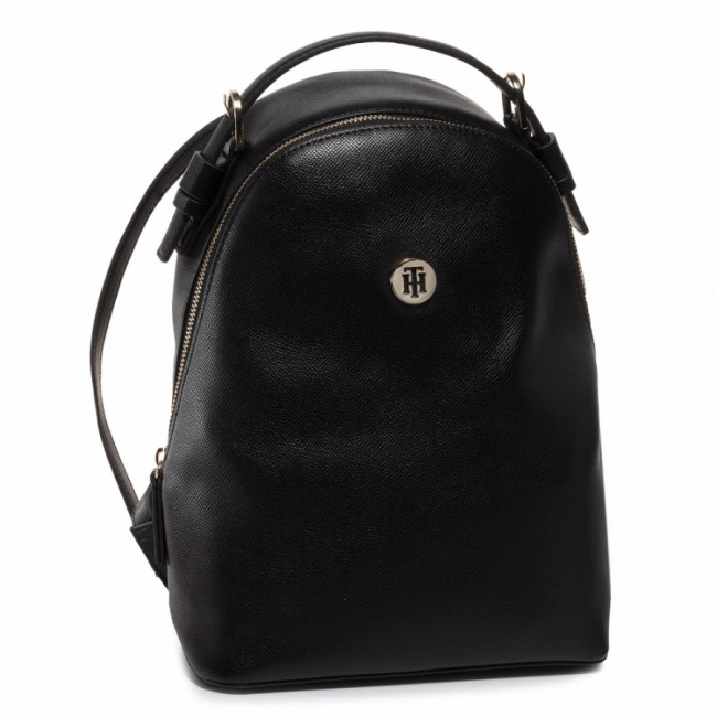 Ruksak TOMMY HILFIGER - Classic Saffiano Backpack AW0AW07670 BDS