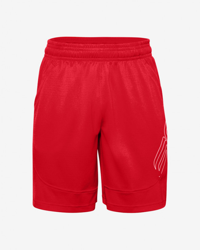 Under Armour SC30™ Underrated Kraťasy Červená