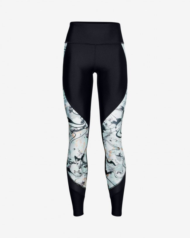 Under Armour HeatGear® Armour Alkali Legínsy Čierna