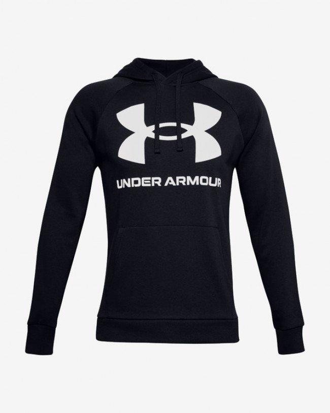 Under Armour Rival Fleece Big Logo Mikina Čierna