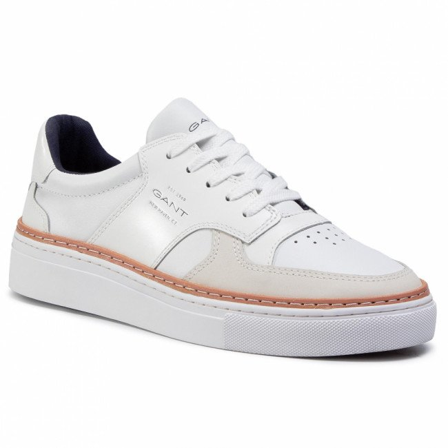 Sneakersy GANT - Mc Julien 21631865 Bright White G290