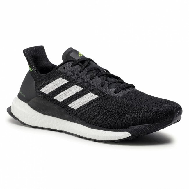 Topánky adidas - Solar Boost 19 M FW7814 Core Black/Cloud White/Signal Green