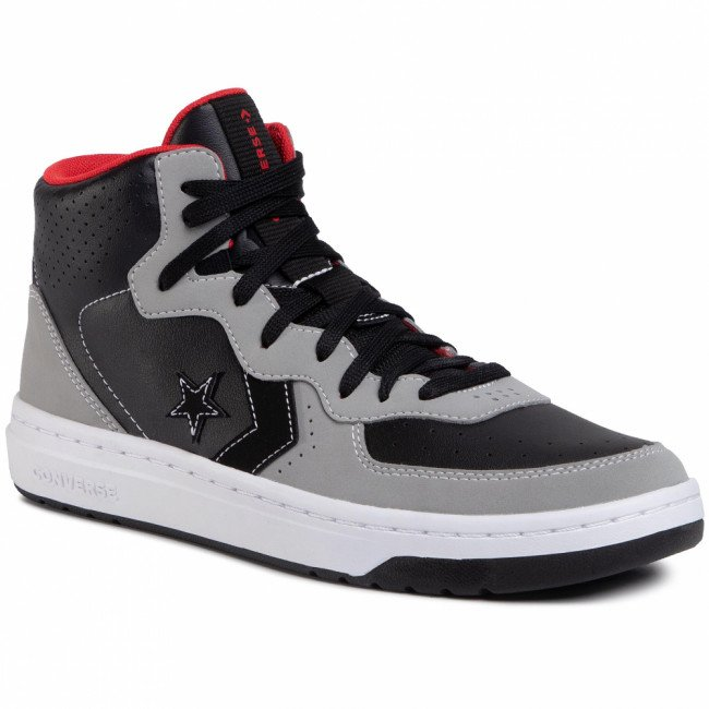 Sneakersy CONVERSE - Rival Mid 168735C Black/Dolphin/University Red