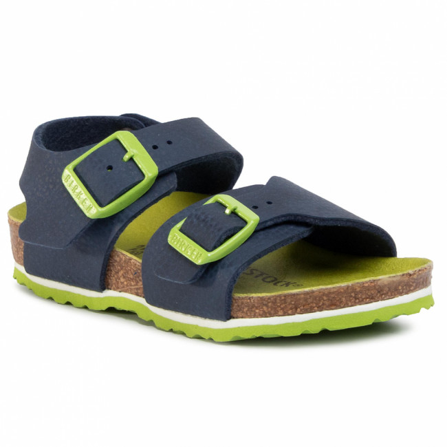 Sandále BIRKENSTOCK - New York Kids Bs 1015756 M Desert Soil Vibrant Blue