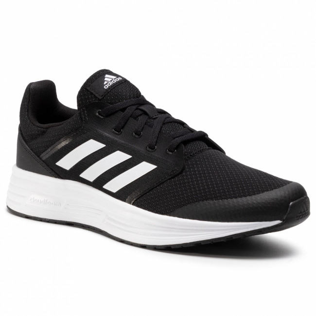 Topánky adidas - Galaxy 5 FW5717 Core Black/Cloud White/Cloud White