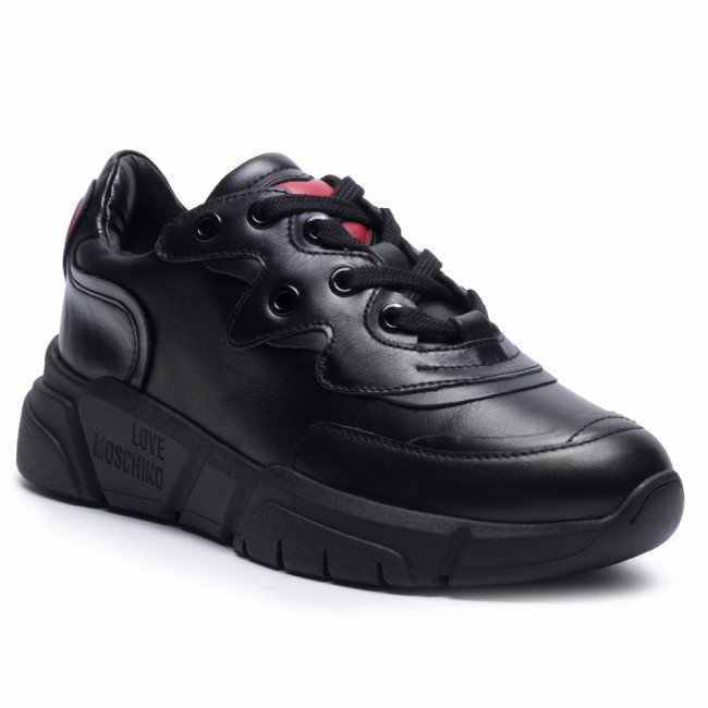 Sneakersy LOVE MOSCHINO - JA15153G1BIA0000 Nero