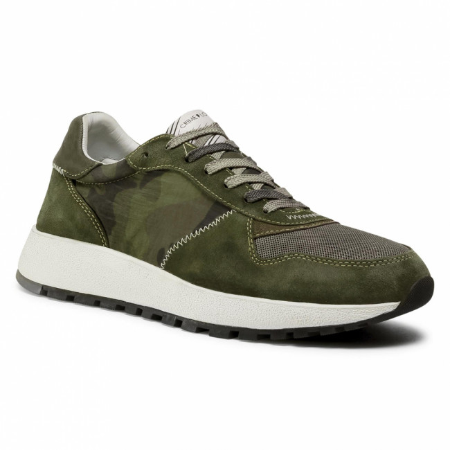 Sneakersy CRIME LONDON - Extra Light Runner 11202AA3.83 Military