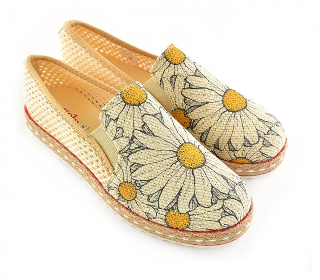 Goby slip on Daisy s margarétkami