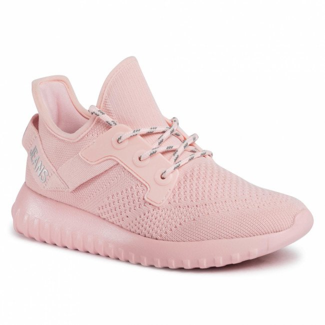 Sneakersy CALVIN KLEIN JEANS - Ronette B4R1641  Crystal Pink/Silver
