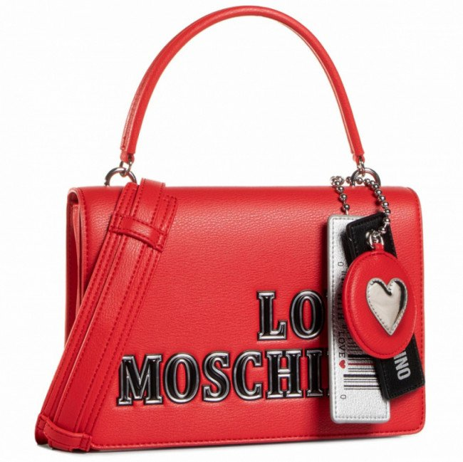 Kabelka LOVE MOSCHINO - JC4238PP0BKG0500 Rosso