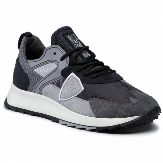 Sneakersy PHILIPPE MODEL - Royale RLLU CC01 Camouflage Anthracite