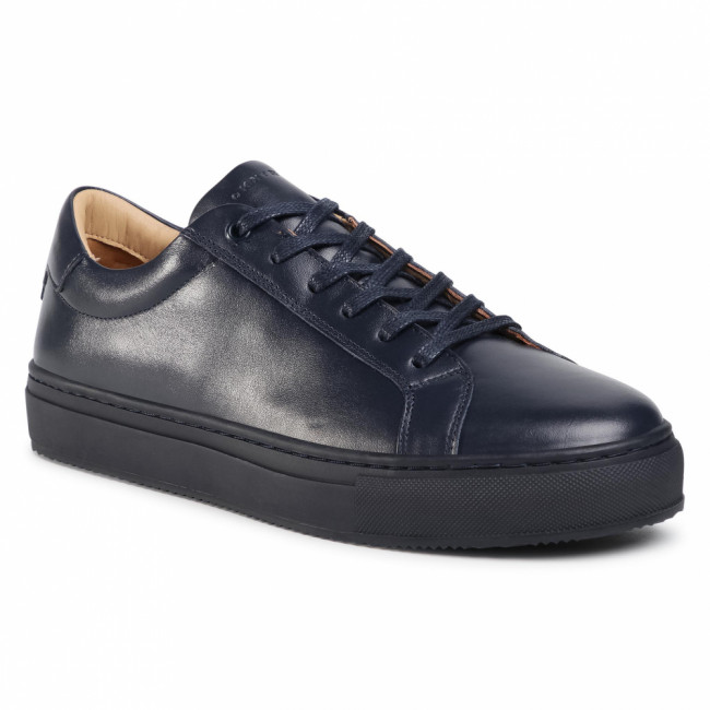 Sneakersy TOMMY HILFIGER - Premium Cupsole Leather FM0FM02858 Desert Sky DW5