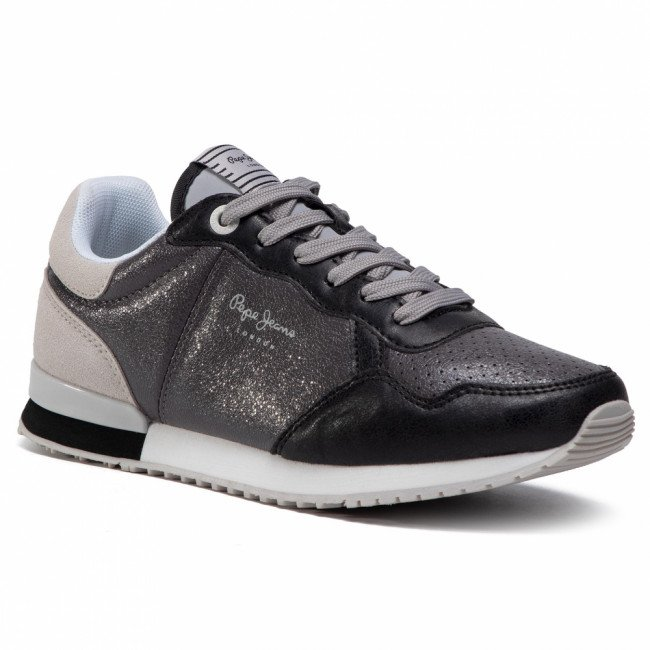 Sneakersy PEPE JEANS - Archie Noon PLS31101 Chrome 952