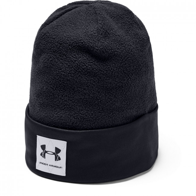 Čiapka Under Armour Boy\'S Unstoppable Fleece Beanie-Blk