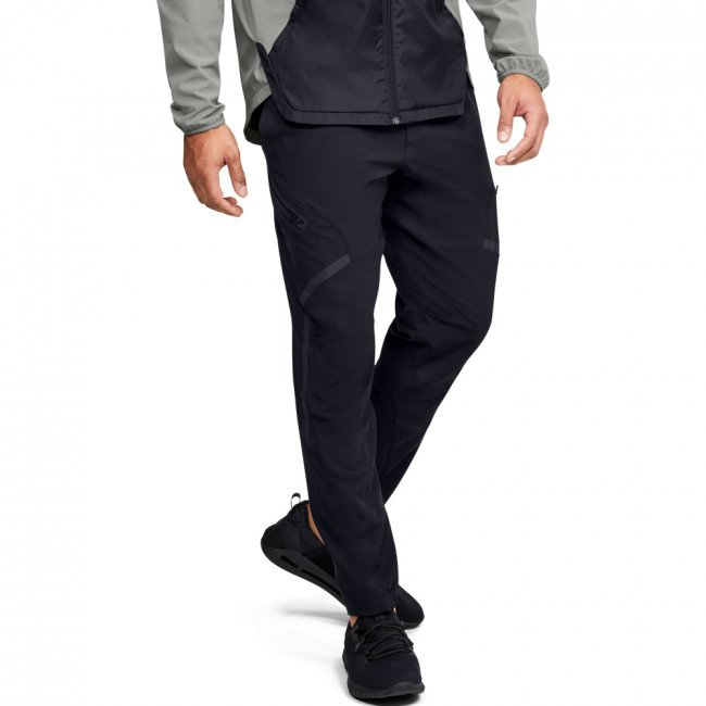 Tepláky Under Armour STRETCH WOVEN UTILITY CARGO PANT-BLK