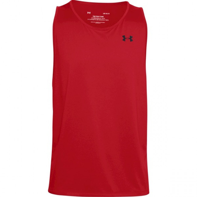 Tielko Under Armour Tech 2.0 Tank-RED