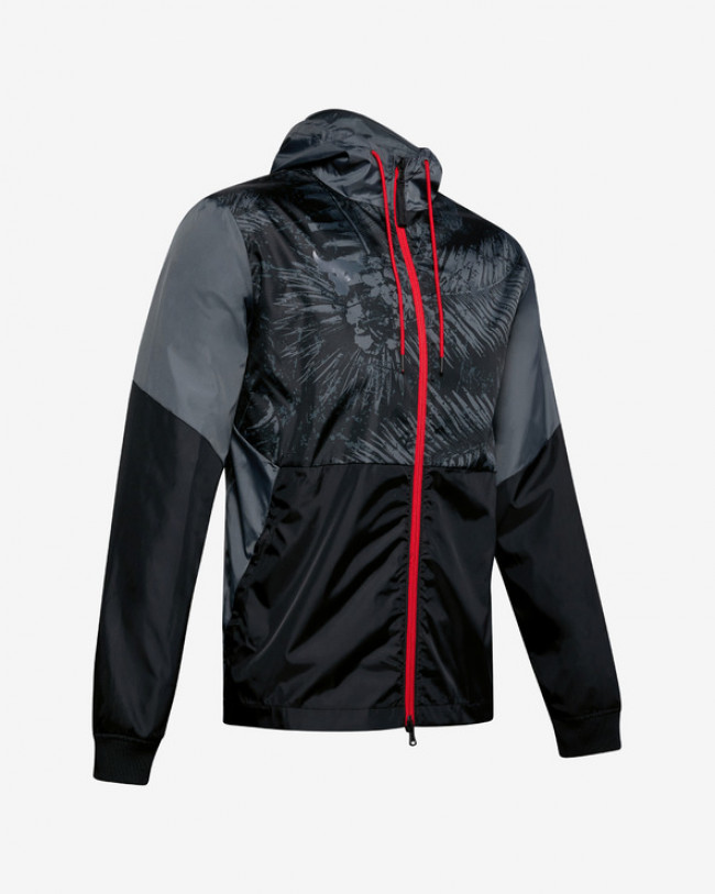 Under Armour Project Rock Legacy Windbreaker Bunda Čierna
