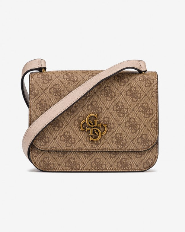 Guess Noelle Mini Cross body bag Hnedá