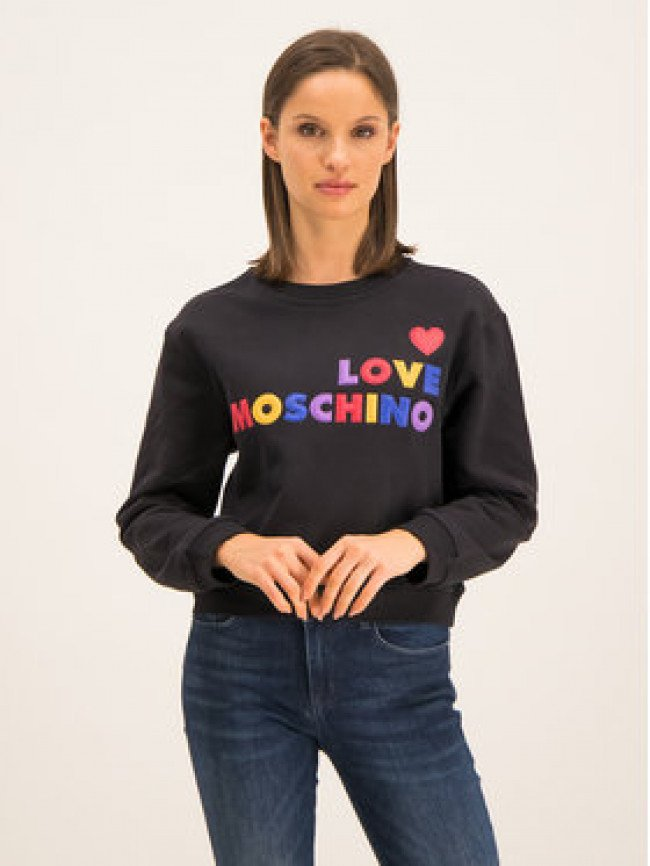 LOVE MOSCHINO Mikina W630628M 4068 Regular Fit