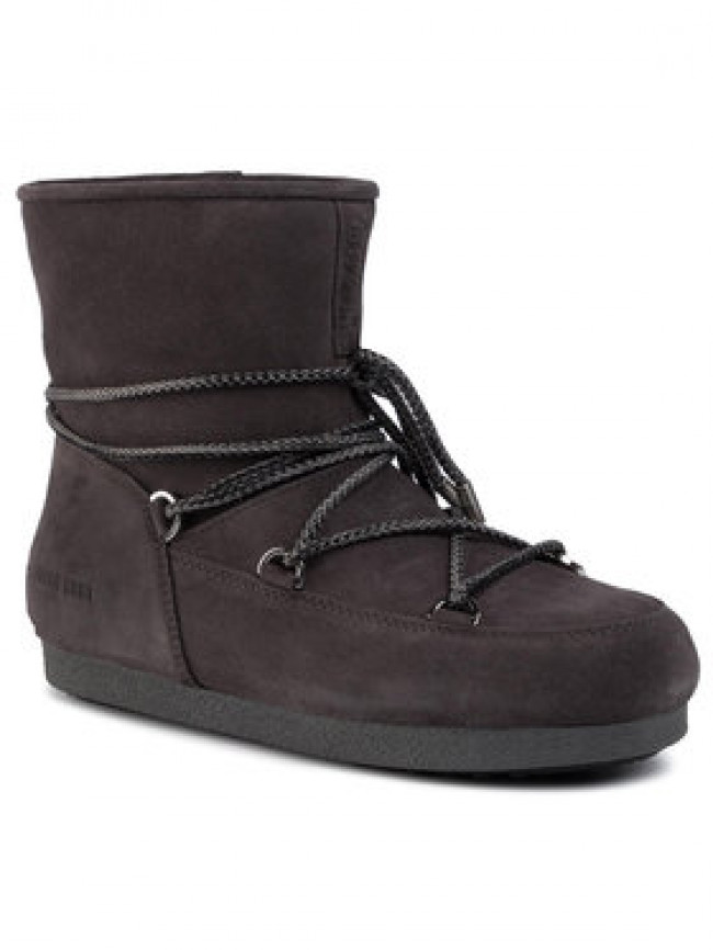 Moon Boot Snehule Mb Far Side Low Suede 24201500002 Sivá