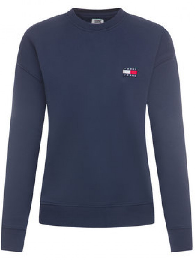 Tommy Jeans Mikina Tjw Tommy Badge Crew DW0DW07786 Relaxed Fit