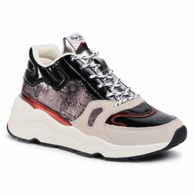 Sneakersy PEPE JEANS - Harlow Space PLS31051 Grey Marl 933