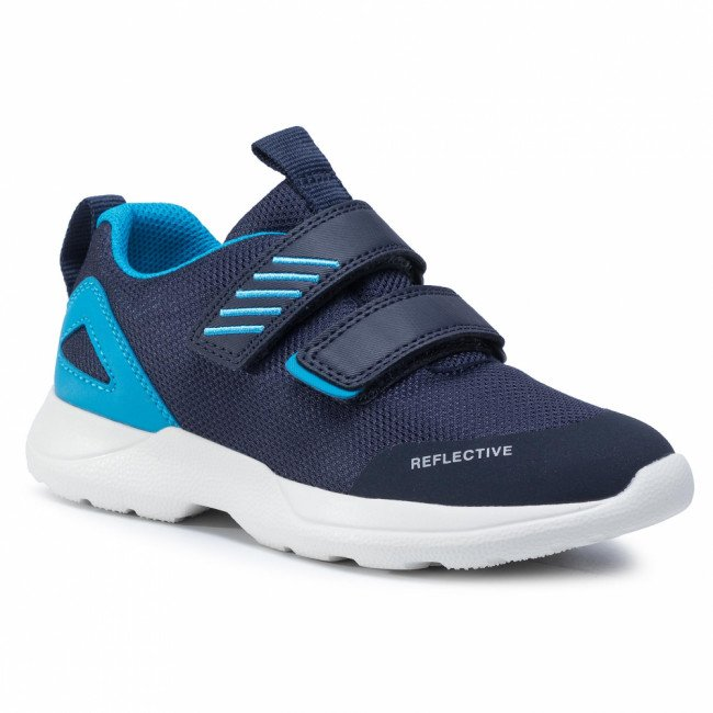 Sneakersy SUPERFIT - 1-009207-8000 D Blau/Blau