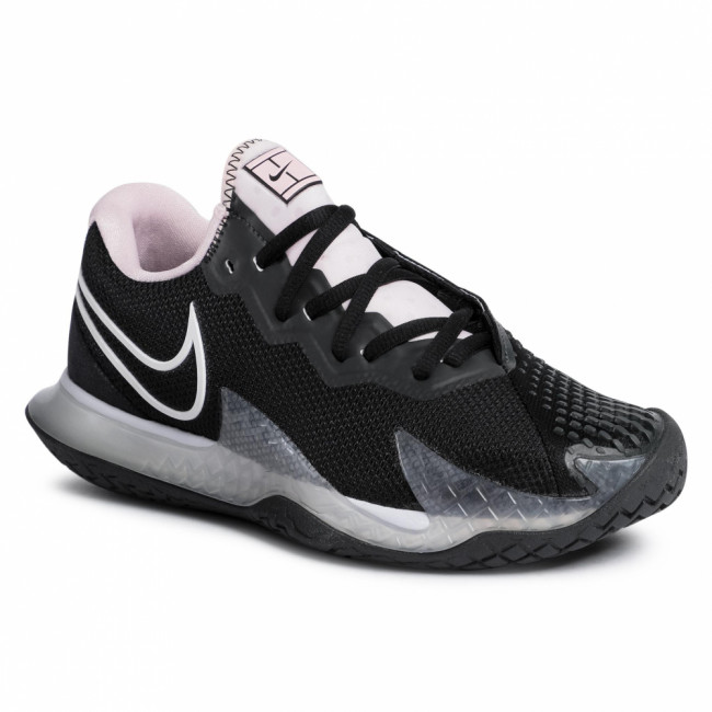 Topánky NIKE - W Air Zoom Vapor Cage 4 Hc CD0431 001 Black/White/Pink Foam