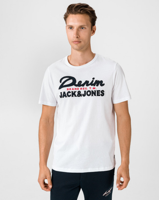 Jack & Jones Application Tričko Biela