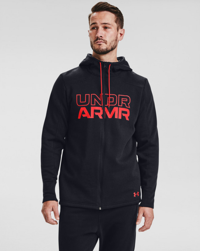 Under Armour Baseline Fleece Full Zip Mikina Modrá