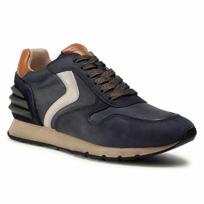 Sneakersy VOILE BLANCHE - Liam Power 0012015199.04.1C49 Navy/Latte