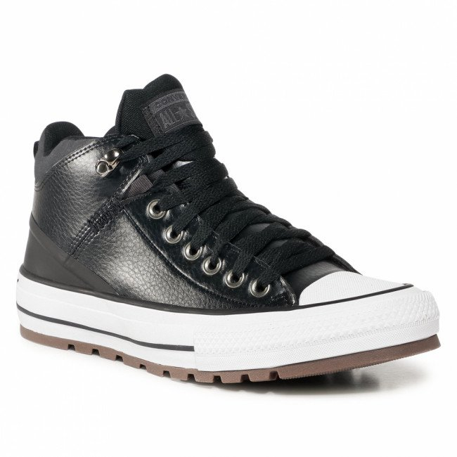 Tramky CONVERSE - Ctas Street Boot Hi 168865C Black/Almost Black/White