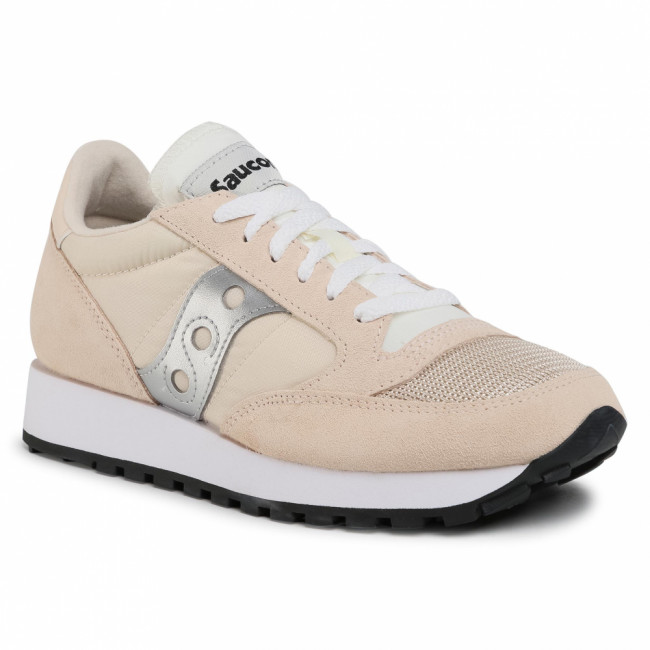 Sneakersy SAUCONY - Jazz Original Vintage S60368-158 Tan/Wht/Sil