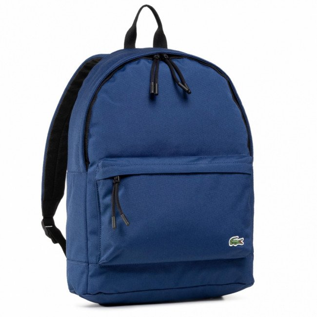 Ruksak LACOSTE - Backpack NH2677NE Navy Blue F44