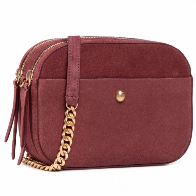 Kabelka COCCINELLE -  GBA Cocci Suede E1 GBA 15 01 01 Marsala R22