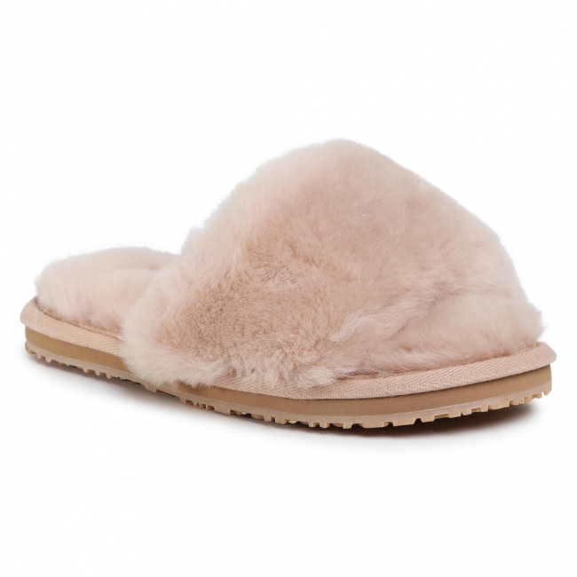 Šľapky MOU - Sheepskin Fur Slide Slipper FW161001L Robe