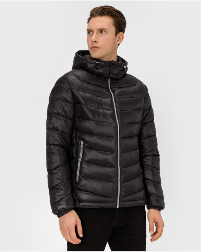 Jack & Jones Roll Bunda Čierna