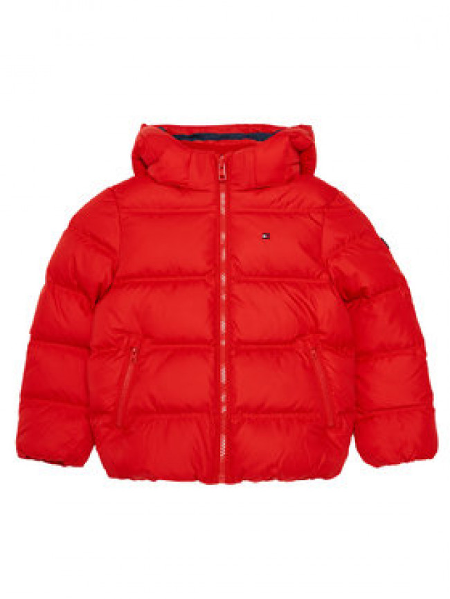 Tommy Hilfiger Vatovaná bunda Essential KB0KB05879 M Červená Regular Fit
