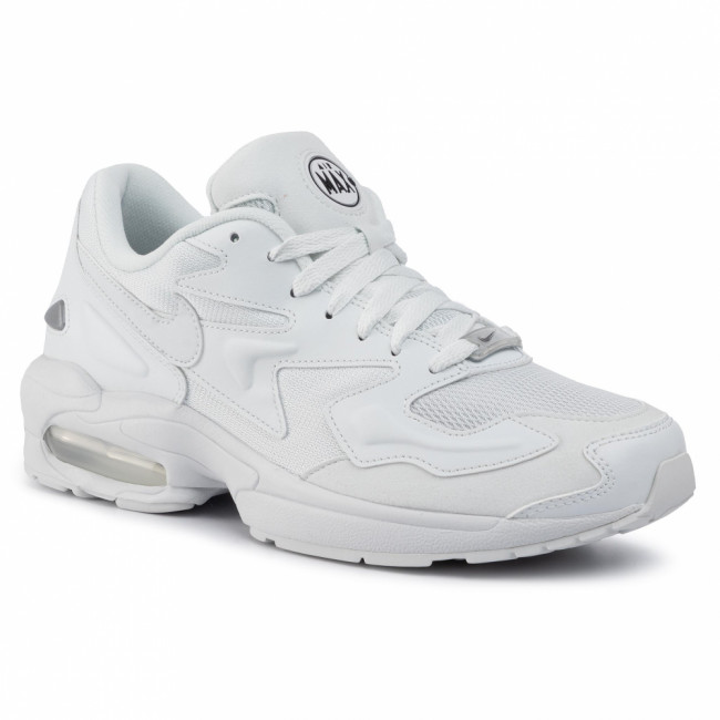 Topánky NIKE - Air Max2 Light AO1741 102 Off White/Off White