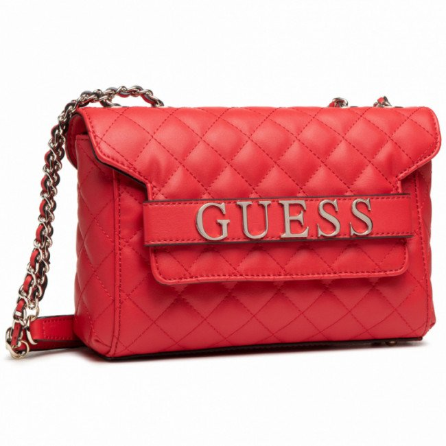 Kabelka GUESS - Illy (VG) HWVG79 70210 RED