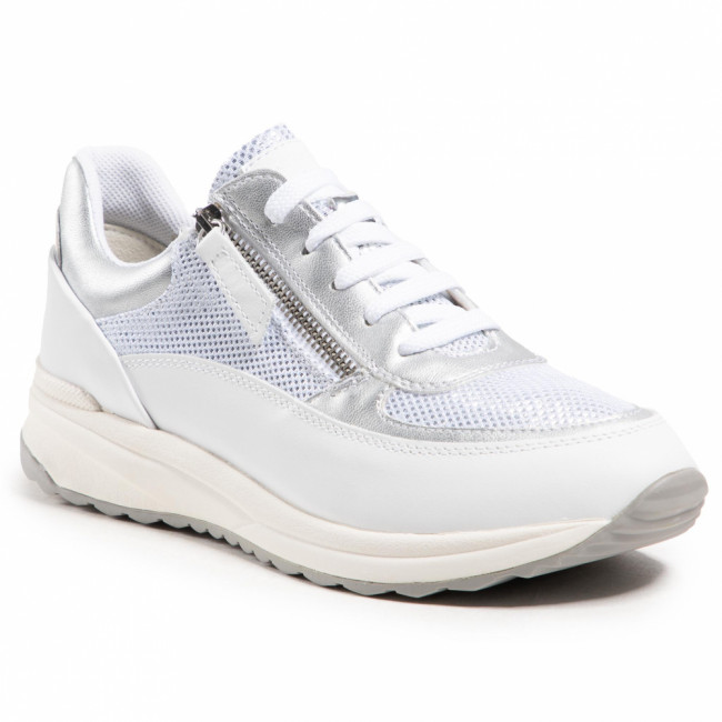 Sneakersy GEOX -  D Airell A D152SA 02241 C5000 White/Off Whitte